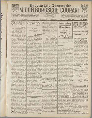 Middelburgsche Courant 1932-02-27