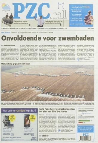Provinciale Zeeuwse Courant 2009-09-17