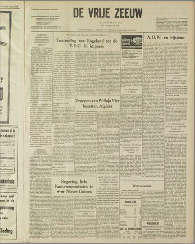 de Vrije Zeeuw 1962-07-30