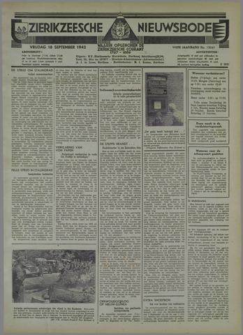 Zierikzeesche Nieuwsbode 1942-09-18