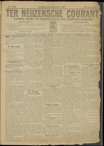 Ter Neuzensche Courant. Algemeen Nieuws- en Advertentieblad voor Zeeuwsch-Vlaanderen / Neuzensche Courant ... (idem) / (Algemeen) nieuws en advertentieblad voor Zeeuwsch-Vlaanderen 1914-12-29
