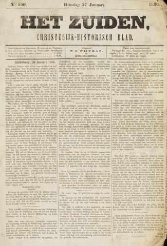 Het Zuiden, Christelijk-historisch blad 1880-01-27