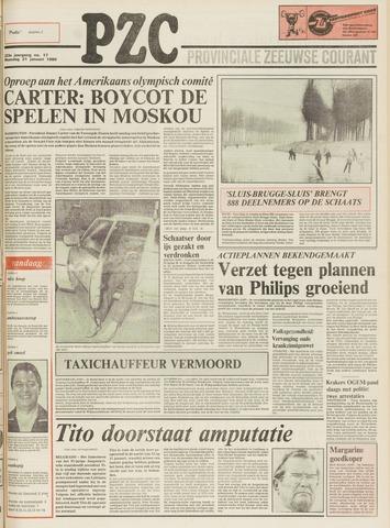 Provinciale Zeeuwse Courant 1980-01-21