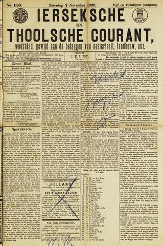 Ierseksche en Thoolsche Courant 1907-11-02