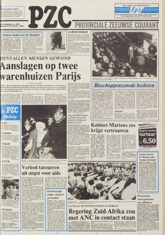 Provinciale Zeeuwse Courant 1985-12-09