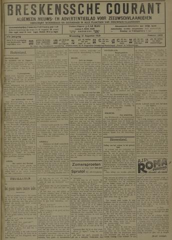 Breskensche Courant 1929-08-21