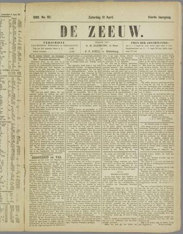 De Zeeuw. Christelijk-historisch nieuwsblad voor Zeeland 1890-04-12
