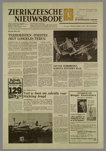 Zierikzeesche Nieuwsbode 1974-09-19