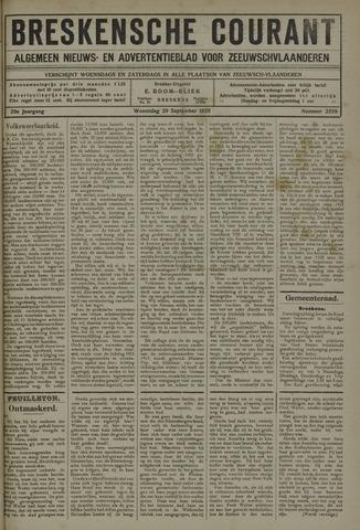 Breskensche Courant 1920-09-29