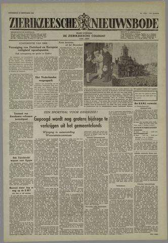 Zierikzeesche Nieuwsbode 1955-09-29