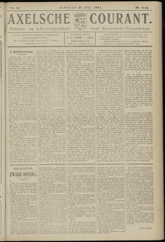 Axelsche Courant 1924-07-29