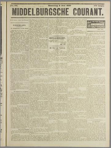 Middelburgsche Courant 1927-05-02
