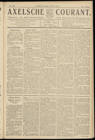 Axelsche Courant 1934-06-26