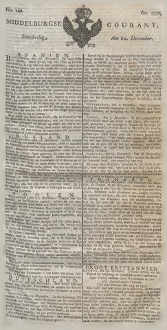 Middelburgsche Courant 1776-12-12