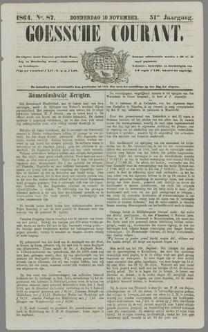 Goessche Courant 1864-11-10