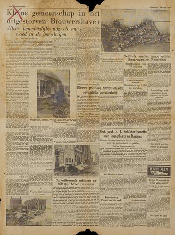 Watersnood documentatie 1953 - kranten 1953-03-07