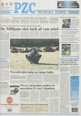 Provinciale Zeeuwse Courant 2001-01-29