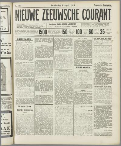 Nieuwe Zeeuwsche Courant 1913-04-03