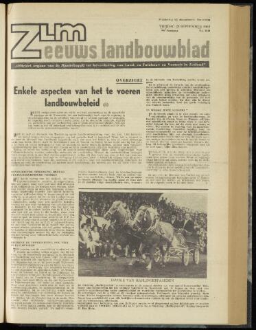 Zeeuwsch landbouwblad ... ZLM land- en tuinbouwblad 1962-09-28