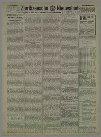 Zierikzeesche Nieuwsbode 1923-05-18