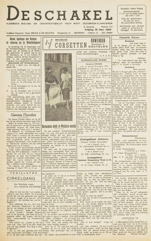 De Schakel 1954-12-31