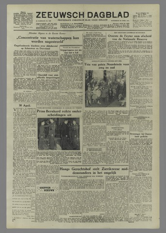 Zeeuwsch Dagblad 1953-04-30