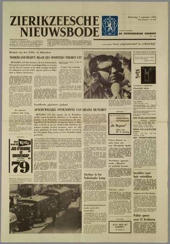 Zierikzeesche Nieuwsbode 1972-09-07