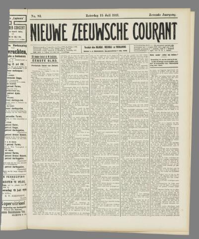 Nieuwe Zeeuwsche Courant 1911-07-15