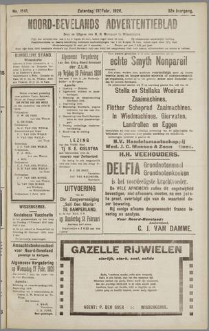 Noord-Bevelands Nieuws- en advertentieblad 1926-02-13