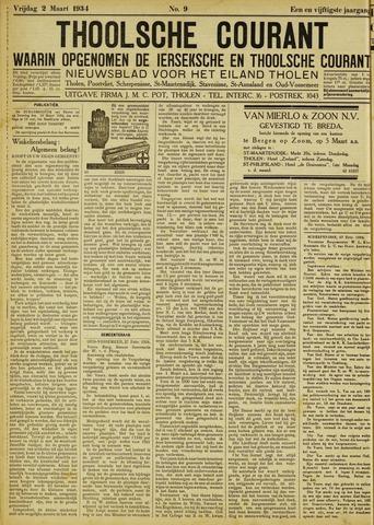 Ierseksche en Thoolsche Courant 1934-03-02