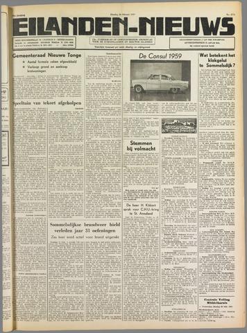 Eilanden-nieuws. Christelijk streekblad op gereformeerde grondslag 1959-02-24