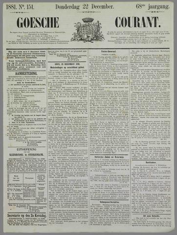Goessche Courant 1881-12-22