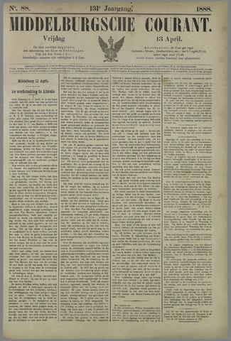 Middelburgsche Courant 1888-04-13