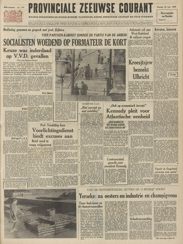Provinciale Zeeuwse Courant 1963-06-25