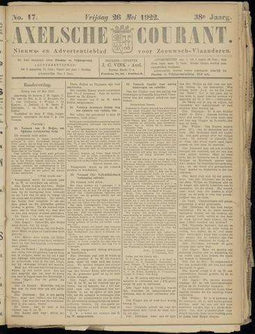 Axelsche Courant 1922-05-26
