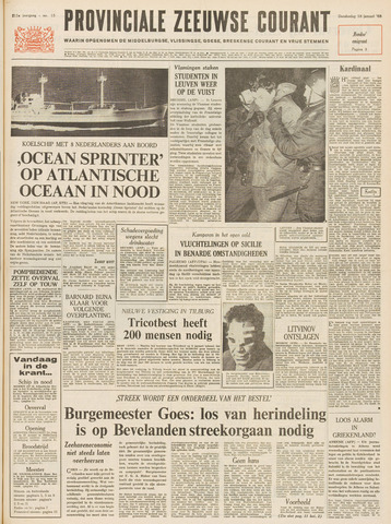 Provinciale Zeeuwse Courant 1968-01-18