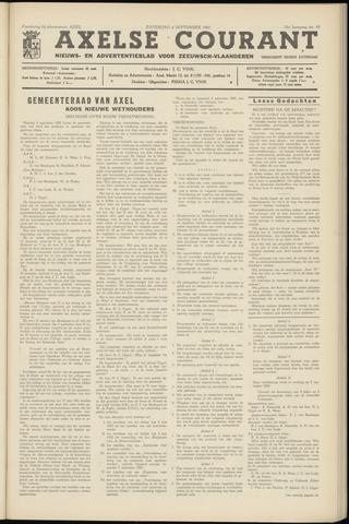 Axelsche Courant 1962-09-08