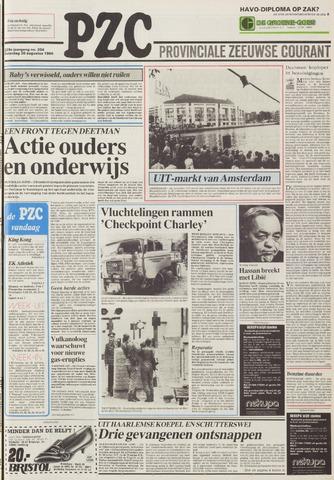 Provinciale Zeeuwse Courant 1986-08-30