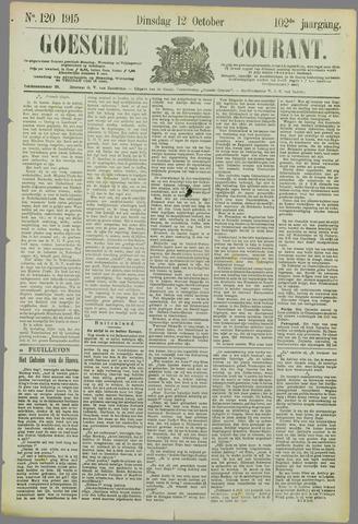 Goessche Courant 1915-10-12