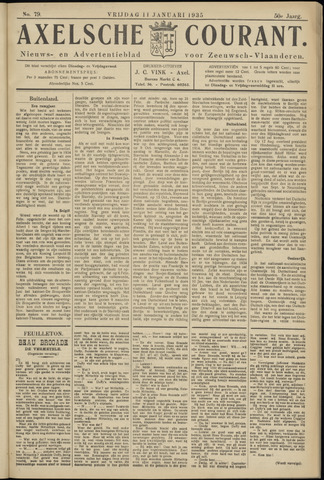 Axelsche Courant 1935-01-11
