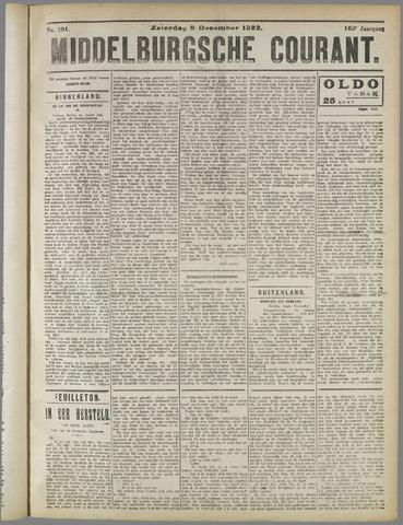 Middelburgsche Courant 1922-12-09