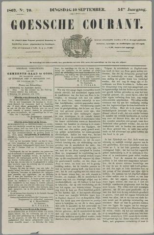 Goessche Courant 1867-09-10