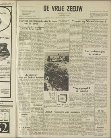 de Vrije Zeeuw 1962-07-11