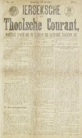 Ierseksche en Thoolsche Courant 1885-10-17