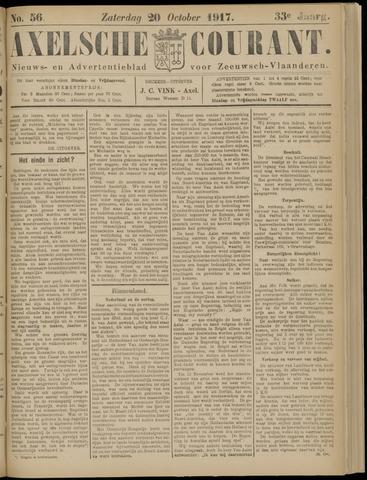 Axelsche Courant 1917-10-20