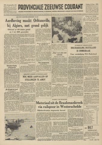 Provinciale Zeeuwse Courant 1954-09-10