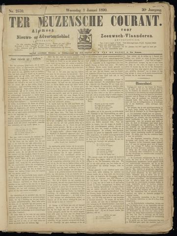 Ter Neuzensche Courant. Algemeen Nieuws- en Advertentieblad voor Zeeuwsch-Vlaanderen / Neuzensche Courant ... (idem) / (Algemeen) nieuws en advertentieblad voor Zeeuwsch-Vlaanderen 1890-01-01