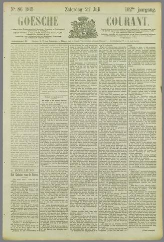 Goessche Courant 1915-07-24