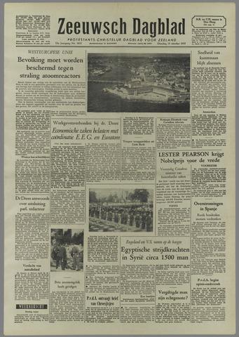 Zeeuwsch Dagblad 1957-10-15