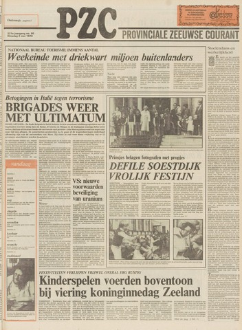 Provinciale Zeeuwse Courant 1978-05-02